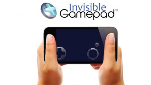 Invisible gamepad 500x281 Accessoire : Invisible Gamepad (6$), un joystick transparent