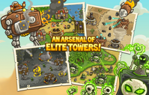 Kingdom Rush Frontiers 1 300x192 Test de Kingdom Rush Frontiers (2,69€) : Le retour du célèbre tower defense