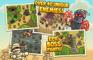 Kingdom Rush Frontiers 3 300x192 Test de Kingdom Rush Frontiers (2,69€) : Le retour du célèbre tower defense