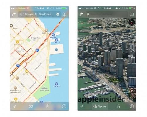 Plans bêta 3 ios 7 1 500x397 iOS 7 : Plans trouve sa place