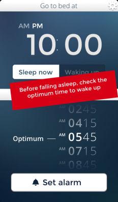 Sleep Cycle calculator Les bons plans de l'App Store ce mercredi 24 juillet 2013