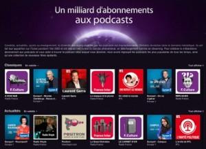 Un milliard podcast 300x216 1 milliard dabonnements aux Podcasts