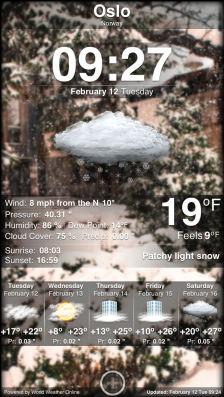Weather App Les bons plans de l'App Store ce samedi 27 juillet 2013