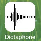 iOS 7 logo dictaphone Aperçu iOS par App4Phone : le dictaphone