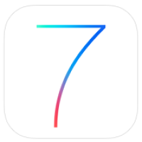 iOS 7 logo iOS 7.1 disponible en version bêta