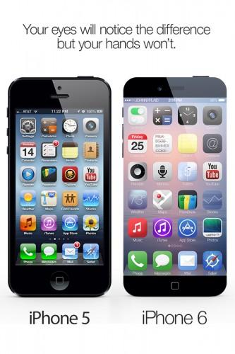 iPhone 6 concept 1 333x500 Un iPhone 6 avec une taille de guêpe ?