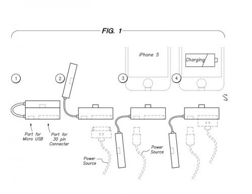 the arriba 2 500x386 Accessoire : The Arriba! (20$), un adaptateur 2 en 1 pour iPhone 5