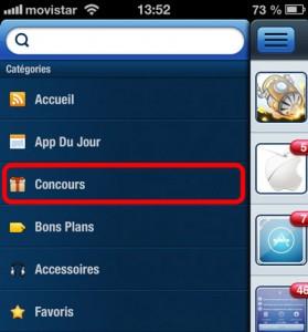 App4Phone2 279x300 CONCOURS : Gagnez le nouvel iPad Mini 3 (399€)