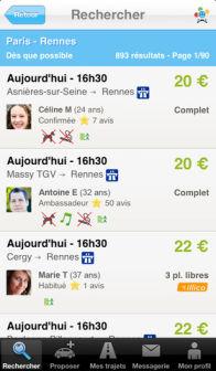 BlaBlaCar Les bons plans de lApp Store ce lundi 5 août 2013