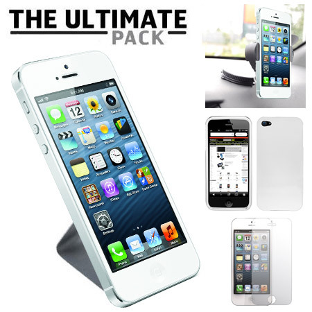 Ccrs PackiPhone5 004 Test Pack accessoires iPhone 5 Ultimate   Noir (22,99€)