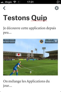 IMG 3359 L'application gratuite du Jour : Quip