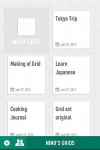 IMG 3464 L'application gratuite du Jour : Grid