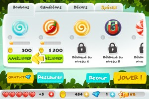 IMG 3544 L'application gratuite du Jour : CandyMeleon