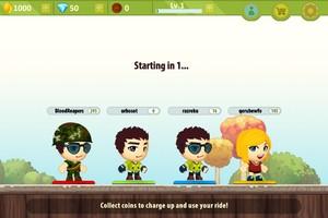 IMG 3594 L'application gratuite du Jour : Battle Run   Real Time Multiplayer Race
