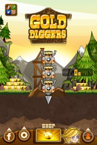 IMG 3668 L'application gratuite du Jour : Gold Diggers