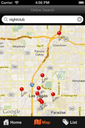 Las Vegas Map Les bons plans de lApp Store ce mardi 20 août 2013