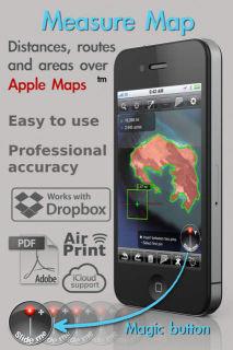 Measure maps Les bons plans de lApp Store ce dimanche 4 août 2013