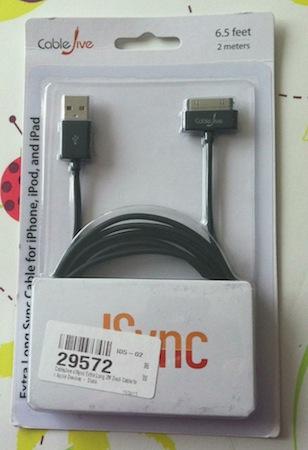 Test CableUSB 002 Test Câble Dock USB CableJive de 2m