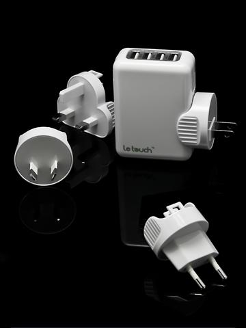 chargeur de voyage 4 usb Accessoire : Offre privilège chargeur de voyage 4 USB à  50% (16,95€)