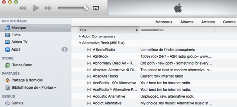 itunes radio Après iTunes, la radio arrive sous iOS ?