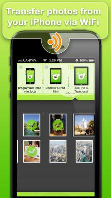 photo transfer wifi Les bons plans de l'App Store ce lundi 12 août 2013