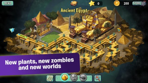 Plants vs Zombie 2 (gratuit) : 25 millions de téléchargements et un record à la clé !