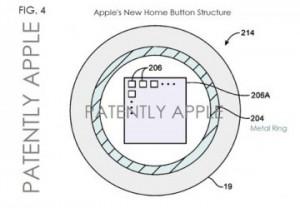 Brevet bouton Home iPhone 5S 300x208 iPhone 5S : le bouton Home compatible NFC et lecteur dempreintes finalement?