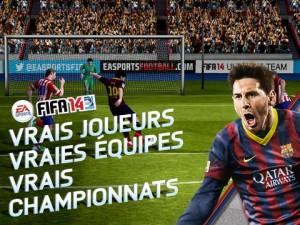 FIFA 14 (gratuit) est disponible sur iPhone, iPod et iPad