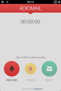 IMG 3916 L'application gratuite du Jour : Adio Mail