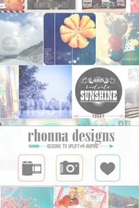 IMG 4153 L'application gratuite du Jour : Rhonna Designs
