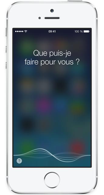 Siri Iphone 5S Siri est abandonné par la majorité des utilisateurs