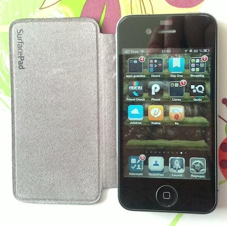 Test SurfacePad 003 Test du SurfacePad (27€) : une très belle protection pour votre iPhone