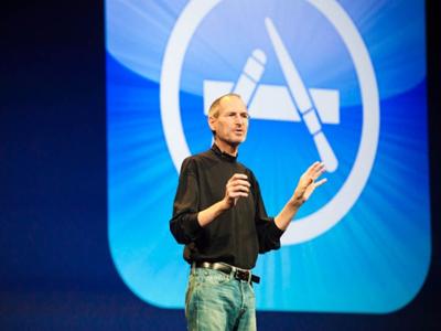 app store steve jobs Bientôt un million dapplications sur lApp Store