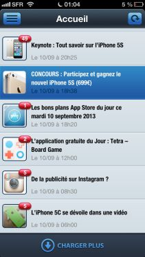 app4phone 4.4 Lapplication App4Phone mise à jour en version 4.4 !