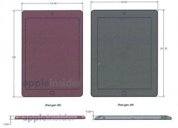 ipad 5 schéma Les dimensions de liPad 5 révélées ?