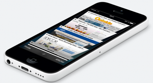 iphone 5C 500x273 Rappel : Vous pouvez précommander votre iPhone 5C !