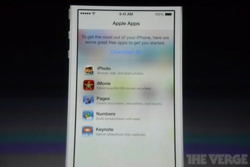 keynote 6 500x333 Les Applis dApple : Pages, Numbers, Keynotes... gratuites pour les nouveaux iPhone 5C et 5S !
