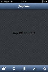 2013 10 30 18 L'application gratuite du Jour : TinyScan