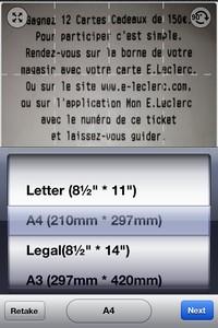 2013 10 30 20.54 L'application gratuite du Jour : TinyScan