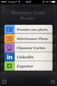 21 200x300 Test de Business Card Reader Pro (5,99€) : Toutes vos cartes de visite dans votre poche