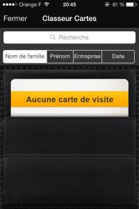 3 200x300 Test de Business Card Reader Pro (5,99€) : Toutes vos cartes de visite dans votre poche