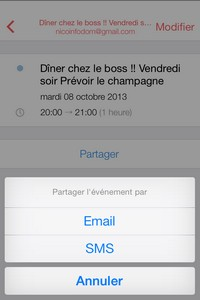 IMG 0053 L'application gratuite du Jour : Sunrise Calendrier