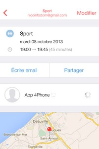 IMG 0055 L'application gratuite du Jour : Sunrise Calendrier