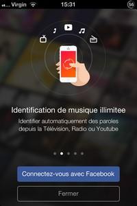 IMG 4481 L'application gratuite du Jour : musiXmatch lyrics player