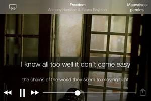 IMG 4490 L'application gratuite du Jour : musiXmatch lyrics player