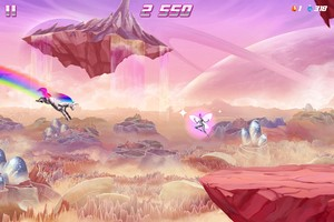 IMG 4516 L'application gratuite du Jour : Robot Unicorn Attack 2
