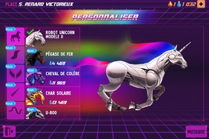 IMG 4525 L'application gratuite du Jour : Robot Unicorn Attack 2