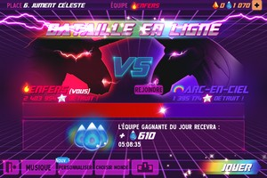IMG 4527 L'application gratuite du Jour : Robot Unicorn Attack 2