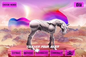 IMG 4528 L'application gratuite du Jour : Robot Unicorn Attack 2