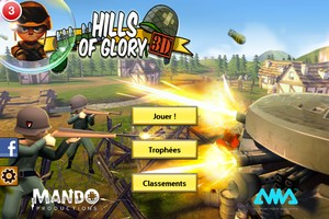 IMG 4549 L'application gratuite du Jour : Hills of Glory 3D